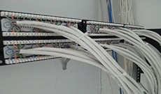VOIP Telephone system 48 Port Patch Panel Cabling